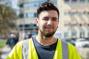 Leo Lobos, 24 år, elektriker, Sundsvall: