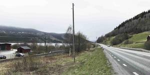 Den planerade gång- och cykelvägen mellan Vik och Frönäset läggs på is.