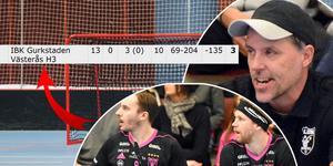 Faluns tränare Thomas Brottman och stjärnorna Alexander Galante Carlström och Rasmus Enström.