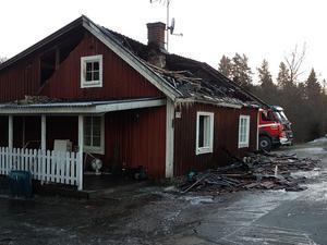 Villabranden i Svennevad.