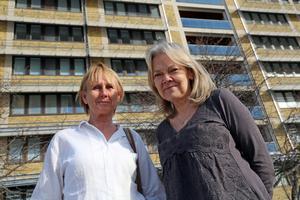 Barnmorskorna Maria Dahlberg och Annika Safrani i Sollefteå hade på eget initiativ tagit fram en utvecklingsplan av vårdformen