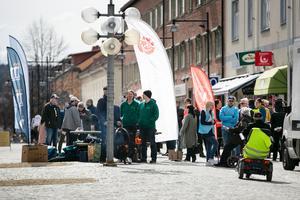 Många av Ludvikas politiker ställde upp i en gemensam manifestation mot rasism och för medmänsklighet på lördagen.