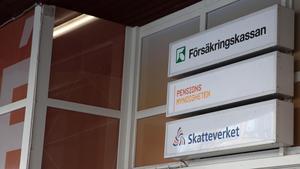 Försäkringskassan, Pensionsmyndigheten och Skatteverket återfinns alla i servicekontoret i Lunahuset.