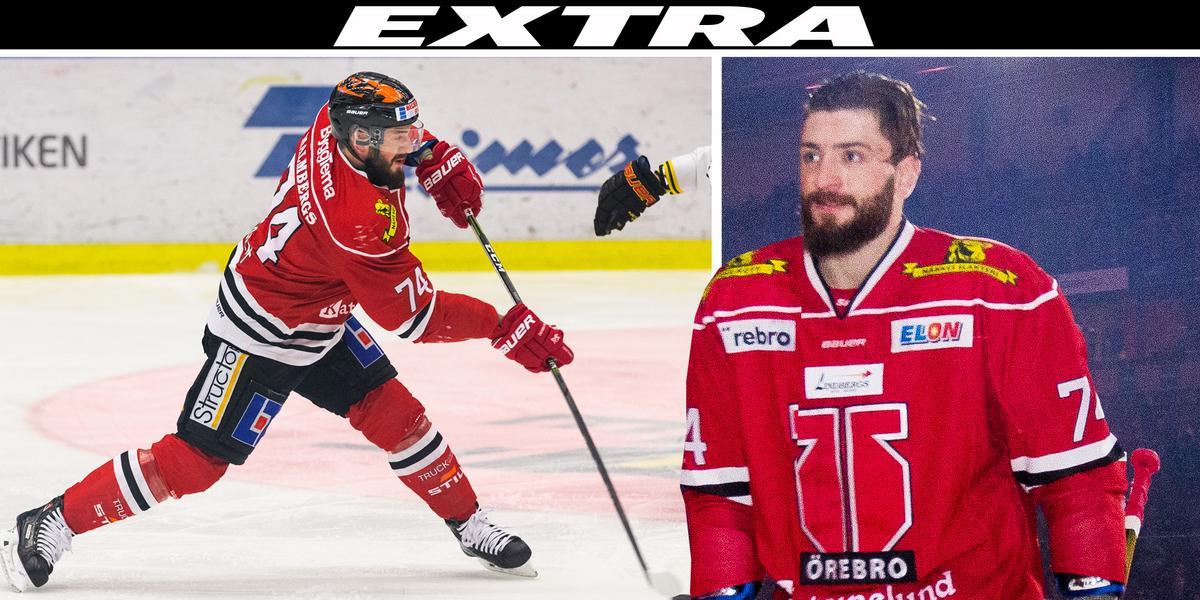 Drömvärvningen klar – Nick Ebert återvänder till Örebro Hockey: