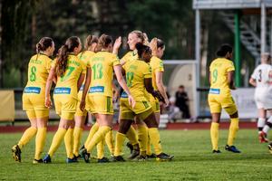 Ljusdals IF förlänger segersviten under en stark avslutning i division 1. De kanariegula har nu fyra raka triumfer med målskillanden 16–1.