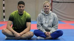 Alireza Mohammady och Ida Stensson har skrivit lite av kampsporthistoria den senaste tiden. SM-brons respektive deltagande på EM är inte vardagsmat för Östersundsklubben.