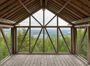 Lofthuset i Orbaden är nominerat till Träpriset 2020. Foto: Åke E:son Lindman