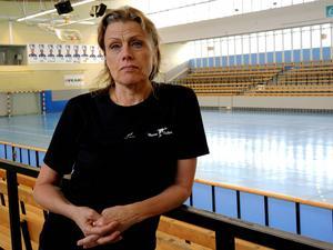 Ulla Karin Solum ser fram emot satsningen på en ny bassäng vid Maserhallen. Arkivfoto: Frida Danielsson