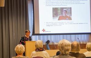 Åsa Älander fungerade som Röda korsets stabschef, i huvudsak stationerad på Fönebasen.