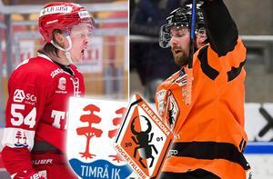 Jonathan Dahlén är inte helt nöjd med hur Karlskrona spelar hockey. Bild: Pär Olert/Bildbyrån