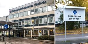 Om ett par år ska flera patienter slussas vidare till sjukhus med specialistkompetens i andra län. Till exempel kan patienter som bor i Västerås skickas till Akademiska sjukhuset i Uppsala.  Foto:Tony Persson /Foto: Fredrik Sandberg