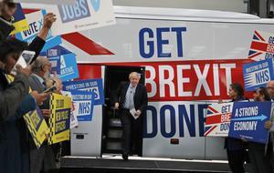 2016, med bland annat Brexit-kampanjen, var ett genombrottsår för de krafter som hackat opinionsbildningen på nätet. Bild: TT
