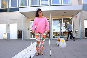 Västeråsaren, Lena Nordberg, opererade höften i Lindesberg – och fick därmed en kortare väntetid.