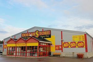 Här på Linggatan bredvid Rusta ligger Dollarstore i dag.