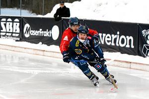 Mattias Krantz hade en trevlig lördag hemma mot Gustavsberg.