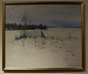"Lennart Granström: ""Skata""."