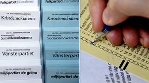 Att Södertälje kommun i år är indelad i en valkrets istället för två kan ha betydelse för hur många som blir personvalda i kommunvalet. Foto: Jessica Gow/TT