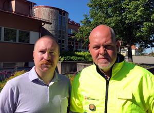 Patrik Lundqvist och Mats Eriksson.