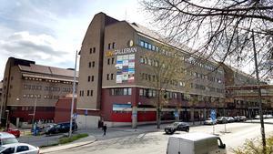 Gästgivaregatan, Nygatan och Lunagallerian.