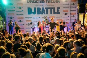 DJ battlet vid Kallis samlar storpublik varje år i samband med Almedalsveckan i Visby.