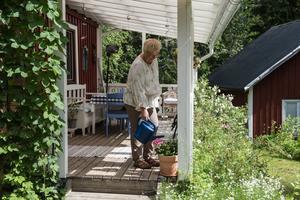 På fritiden gillar Senitha att pyssla i trädgården, läsa böcker och baka.