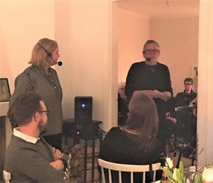Det var fullbokat sedan länge när stjärnkocken Malin Söderström, med rötter i Skärså, gästade Berga Brystuga för ett samtal med Anders Eklund.