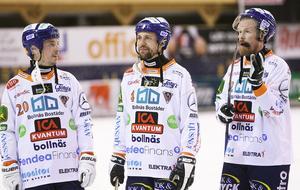 Säsongen är över för Christian Mickelsson, Per Hellmyrs och Ville Aaltonen.