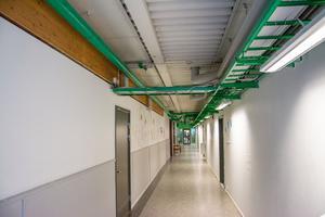 Trots ett flertal åtgärder med att komma tillrätta med fukt- och mögelproblemen på Lugnviksskolan, är inomhusmiljön fortfarande dålig.