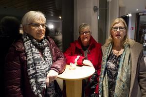 Gävleborna Ulla Karnatz, Siv Englund och Åsa Olsson.