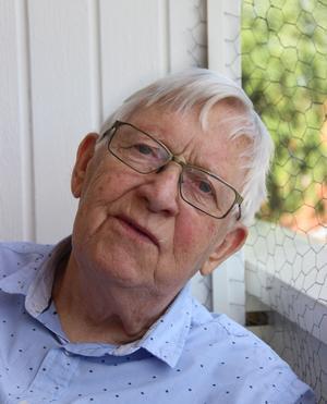 Bertil Jansson i Mora är duktig på att berätta om hur det var förr i Mora.