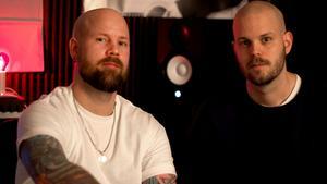 Johan (Miklo) Pirhonen och Kristoffer Pirhonen är Miklo & Tusenfalk. Bild: Kajsa Elfström