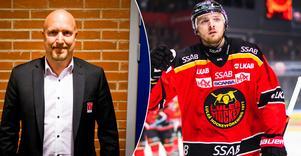 Örebro Hockeys sportchef Niklas Johansson dementerar Aftonbladets uppgifter att Robin Kovacs är klar för Örebro nästa säsong. Bild: Bildbyrån