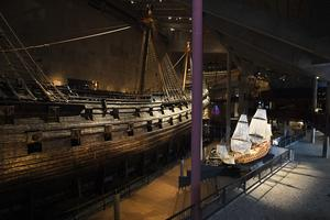 Vasamuseet står tomt; besökarna stannar hemma i oronatider. Bild: Ali Lorestani/TT