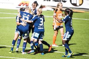 SDFF kunde för första gången i år hålla nollan och därmed vinna med 2–0.