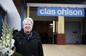 Ingela Öman hade rest från Göteborg för att vara med på årsstämman. Sedan hon köpte sina första aktier för elva år sedan har hon inte missat en stämma. Foto:Stina Rapp