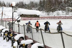 Det blir inga tävlingar på Rolandshof utanför Bollnäs i helgen.