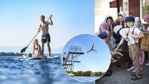 Östersund är också den perfekta destinationen för aktiva barnfamiljer, med både äventyrsbad, klätterhall, skatepark och äventyrshus.