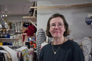 Lise-Lott Långberg har drivit Kol & Rosor-butiken på Slaggatan sedan 2010.