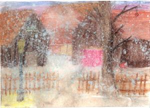 1:a pris Agnes Andersson, 11 år, Stugun. Kategori 9-11 år.