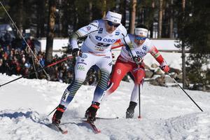 Ida Ingemarsdotter under kvartsfinalen.