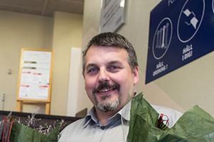 Anders Stålnäbb dog när han blev påkörd på vägen till jobbet på SSAB i Borlänge i september. Föraren av bilen misstänks för drograttfylleri i samband med olyckan. Foto: SSAB