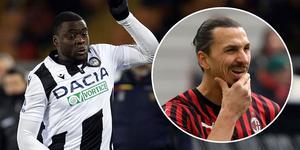 Ken Sema och Zlatan möttes i Serie A.