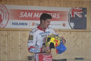 Sam Masters.