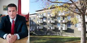 Ilija Batljan, tidigare socialdemokratiskt kommunalråd i Nynäshamn, är ny ägare till flera bostadsfastigheter i Nynäshamn. Foto: Fredrik Sandberg/TT/Carina Albin
