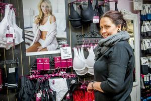 Katarina Lindroth, ägare av Linboa, berättar att den nya butiken med underkläder öppnar i slutet av mars.