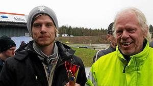 Daniel och Bertil Frisk.