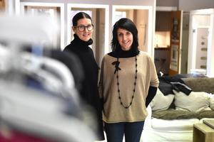 Maria Litens och Christin Pehrsson kommer att sakna den nära relationen till kunderna.