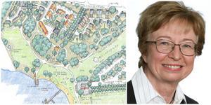 Kerstin Eriksson är säker på att hon inte gjorde fel när planerna för Hökmossbadet och Älgbostad togs upp i kommunstyrelsen.