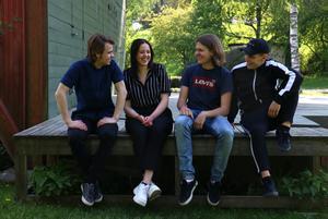 Musikgruppen Vibes med medlemmar från Kumla, Karlskoga och Örebro gjorde sitt sista år på Rytmus i Örebro. John Enberg, Lisa Hubbinette Sundström, Elias Lindén och Isak Larsson berättade om sin framtidssatsning på musiken.