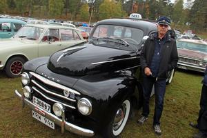 Lars Olov Manlig från Gävle hade med sin Volvo PV årsmodell 53.